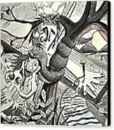 Atonement Canvas Print by Glen Sanders