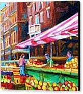 Atwater Market   Canvas Print