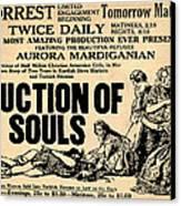 Auction Of Souls Canvas Print