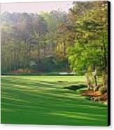 Augusta Hole 12 Canvas Print by Bo  Watson