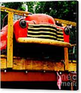Austin Texas - Maria's Taco Express - Luther Fine Art Canvas Print