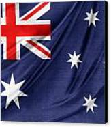 Australian Flag Canvas Print