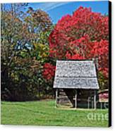 Autum For A Mountain Home Canvas Print