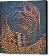 Autumn Amphitheatre Canvas Print by Mark Howard Jones
