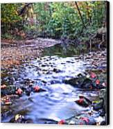 Autumn Begins Canvas Print by Frozen in Time Fine Art Photography