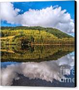 Autumn Clouds Canvas Print
