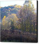 Autumn Colors Of Valley Forge Canvas Print by Bill Cannon
