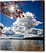 Autumn  Confidential  Canvas Print by Bob Orsillo