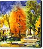 Autumn Gold 2 Canvas Print by Kip DeVore