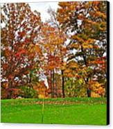 Autumn Golf Canvas Print