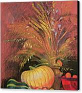 Autumn Harvest Canvas Print by Claire Spencer