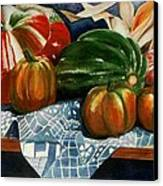 Autumn Harvest Canvas Print by Eve Riser Roberts