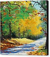 Autumn In Mt Wilson Canvas Print by Graham Gercken