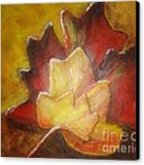Autumn Leaves 2 Canvas Print by Elena  Constantinescu