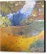 Autumn Leaves Panel1 Of 2 Panels Canvas Print