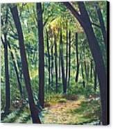 Autumn Meditation Canvas Print