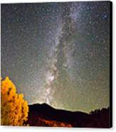 Autumn Milky Way Night Sky  Canvas Print by James BO  Insogna