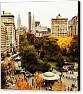 Autumn - New York Canvas Print