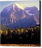 Autumn On The Mount Canvas Print