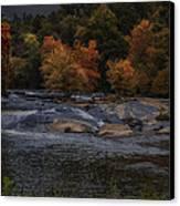 Autumn Splendor Canvas Print by Cindy Rubin