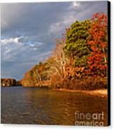Autumn Storm Approaching Canvas Print