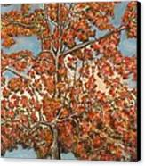 Autumn Tree Canvas Print by Michael Anthony Edwards