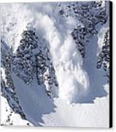 Avalanche I Canvas Print by Bill Gallagher