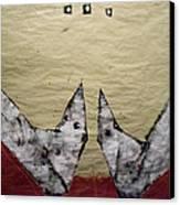Aves Et Stellas Canvas Print