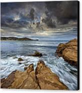 Avoca Beach Canvas Print by Steve Caldwell