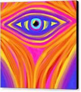 Awakening The Desert Eye Canvas Print