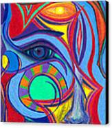 Awakening To Thy True Self Canvas Print by Daina White