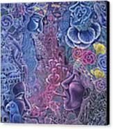 Ayari Warmi Canvas Print by Pablo Amaringo