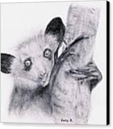 Aye-aye Canvas Print by Lucy D