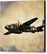 B-25 Georgie's Gal Canvas Print by Peter Chilelli