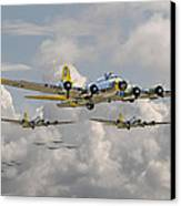 B17 486th Bomb Group Canvas Print