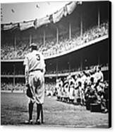 Babe Ruth Poster Canvas Print by Gianfranco Weiss