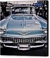 Baby Blue Cadillac Canvas Print