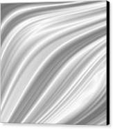 Background Abstract White Smooth Canvas Print