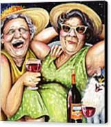 Bahama Mamas Canvas Print