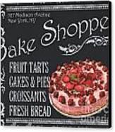 Bake Shoppe Canvas Print