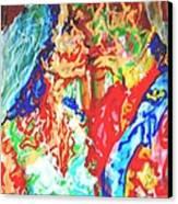 Balcony Kiss Canvas Print