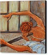 Ballerina II Canvas Print by Xueling Zou