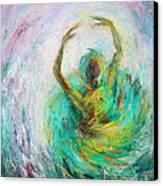 Ballerina Canvas Print by Xueling Zou