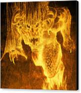 Balrog Of Morgoth Canvas Print by Curtiss Shaffer