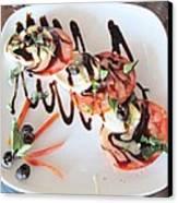 Balsamic Salad Canvas Print