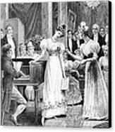 Balzac: A Woman Of Thirty Canvas Print by Granger