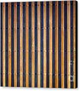 Bamboo Mat Texture Canvas Print by Tim Hester