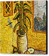 Bamboo Canvas Print by Sergey Khreschatov