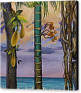 Banana Country Canvas Print