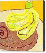 Bananas From Paphos 3 Canvas Print by Anita Dale Livaditis